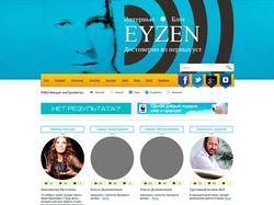 Блог Eyzen (шаблон WordPress)
