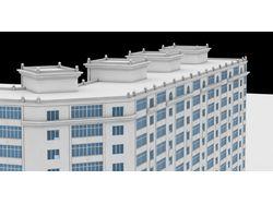 13-ти этажный жилой дом