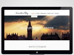 Сайт о Лондоне
