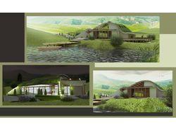 Визуализация собственного проекта жилого дома