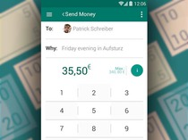 Financial APP Android Material Design