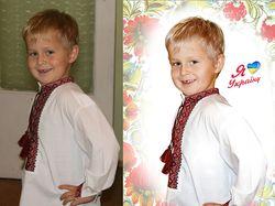 Замена фона, ретушь (фото до и после)