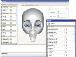 GUI для программной системы управления роботом