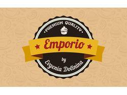 """Логотип для магазина-кондитерской """"Emporio"""""""