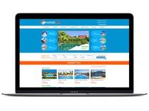 Дизайн сайта для туристического агентства