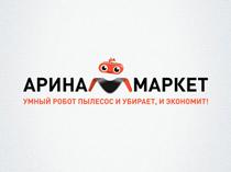 Логотип для интернет-магазина АРИНАМАРКЕТ