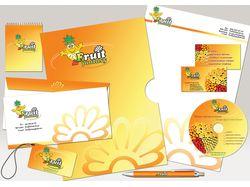 Фирменный стиль для FruitFantasy
