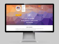 Дизайн сайта партнерской сети.