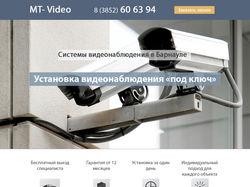 Одностораничник для компании MT-Video