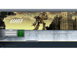 Разработка браузерной online игры warmechs