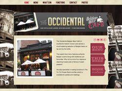 Сайт для Бельгийского бара.