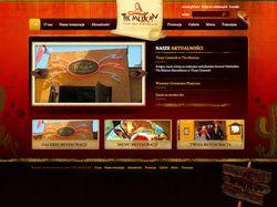 Сайт для польского ресторана месиканськой кухни.