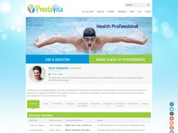 Домашняя страница сайта PrestoVita