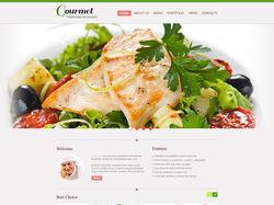 Адаптивная верстка сайта по доставке еды