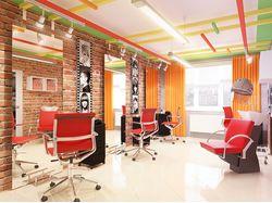 Салон красоты, парикмахерский зал, вид-1