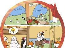Комикс для журнала про морских свинок.