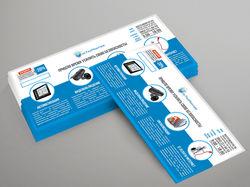 Рекламная листовка для компании РосТехМонтаж