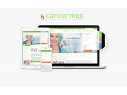 Cancermed.ru - дизайн сайта