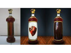 Разработка дизайна бутылки