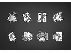 Иконки для строительной компании