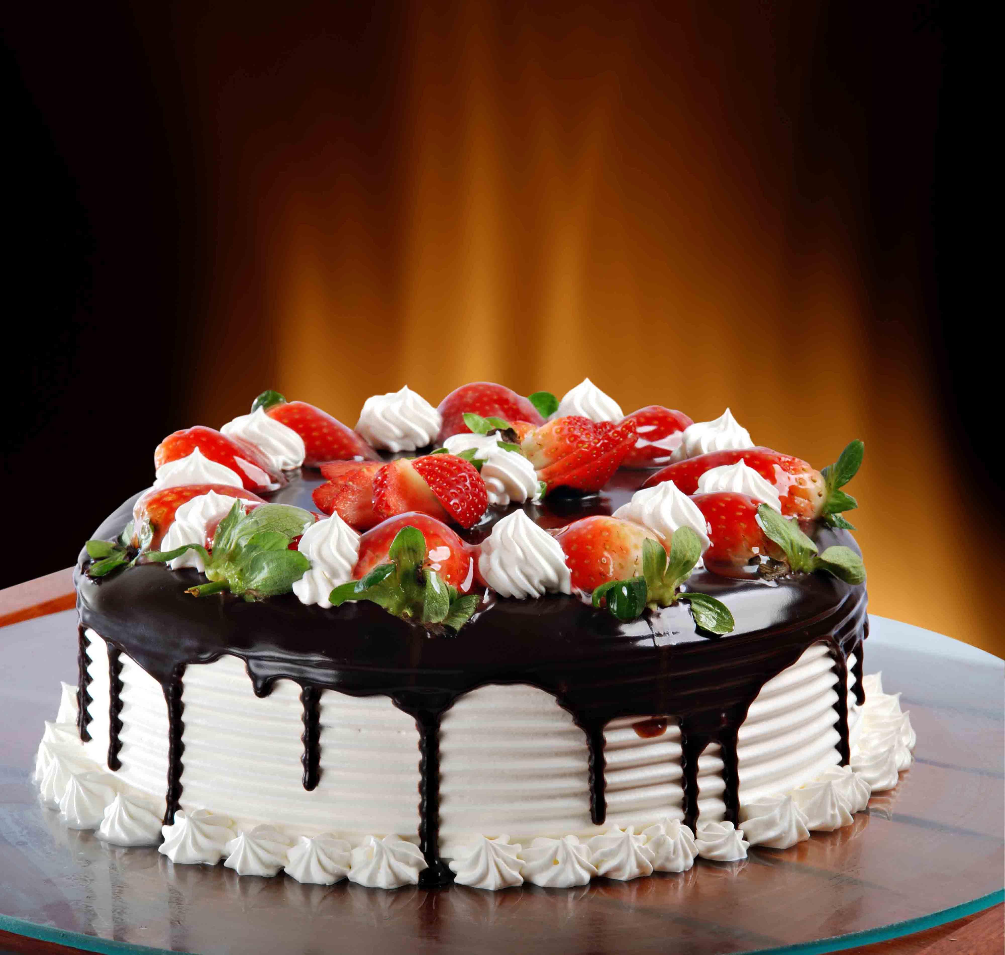 Торт с лисами 11 фотография