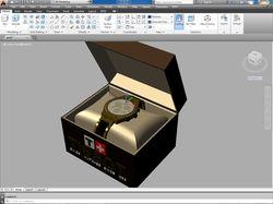 3D моделирование часов
