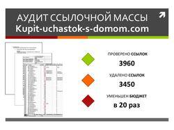 Аудит ссылочной массы - Kupit-uchastok-s-domom.com