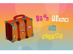 Travel Time Interactive Cartoon