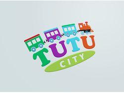 "Логотип для детской комнаты ""Туту-сити"""