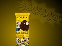 ice cream banana