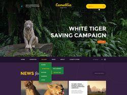Camellia- WordPress шаблон