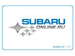 Логотип для сайта subaruonline.ru