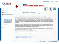 Презентация компании BAIK technologies