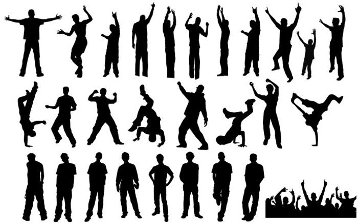 Иллюстрация Уличные танцы  Demiart Photoshop
