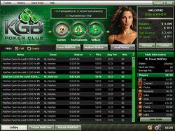 KGB Poker Club Lobby