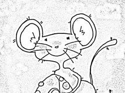 Ч/б мышка
