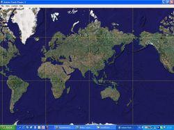 Просмотрщик спутниковых карт