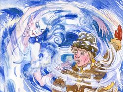 Иллюстрация к сказке Тэтяны Фроловойи