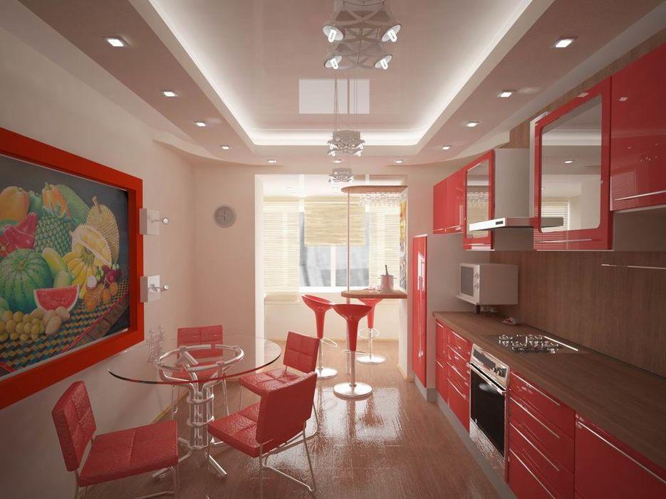 Дизайн кухни совмещенной с лоджией омск.