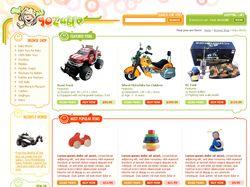 GoZuble. Магазин игрушек.