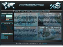 "Дизайн сайта ""Trinityprofit"""