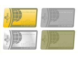 Визитки для обменного пункта электонных валют FМЕ