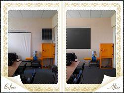Ретушь помещения с элементами фотомонтажа