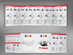 Буклет строительной техники Bobcat