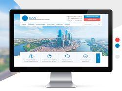 Дизайн для сайта недвижимости