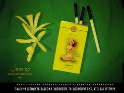 """Реклама сигарет """"Jesicca"""""""