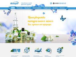 Сайт компании «Аспера»