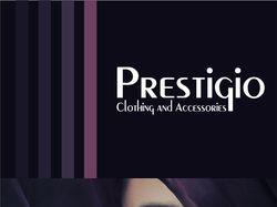 На меню группы VK Prestigio