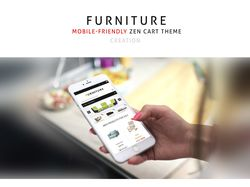 Furniture Zen Cart Theme