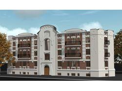 Реконструкция ветхого жилого здания